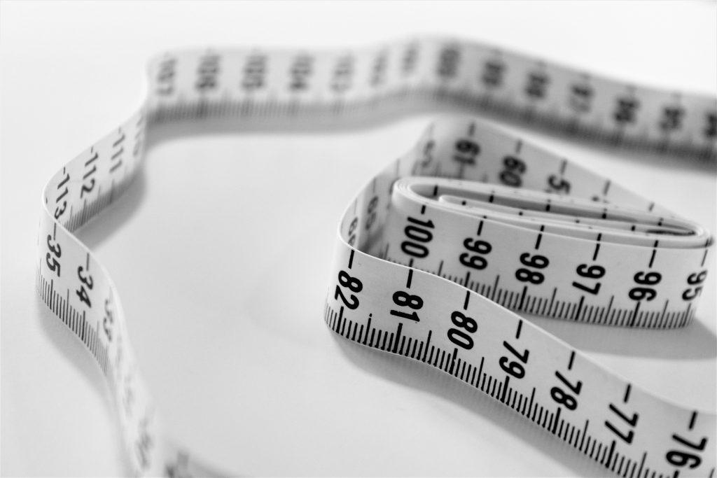 mètre perte de poids